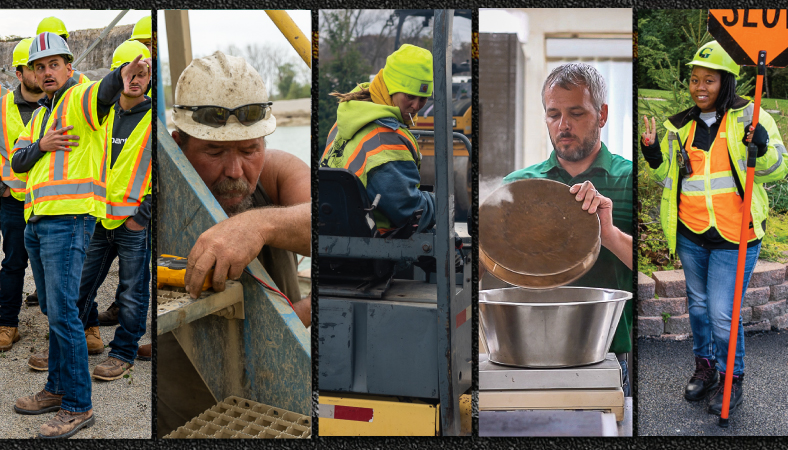 Many Job Options in the Heavy Highway Construction Industry. What Position Fits You?