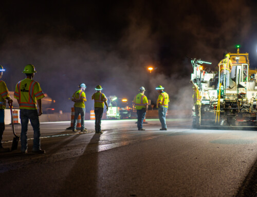 The Ohio Turnpike: Working at Night to Maintain One of Ohio's Major Roadways